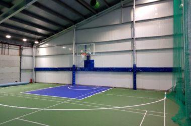 Площадка для баскетбола 3х3, танцев, детского бадминтона, художественной гимнастики