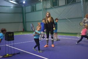 Большой теннис Нижний Новгород открытый урок
