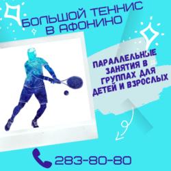 Большой теннис в Нижнем Новгороде. Занятия в группах